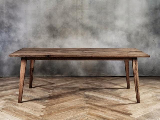 Lifestyle il tavolo in legno grezzo l zpaeqg - Costruire un tavolo allungabile ...