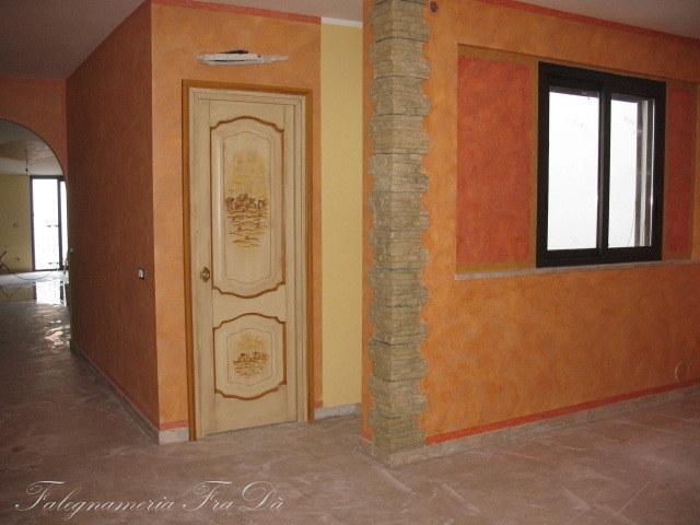 porta con paesaggio 1