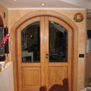 Tetto in legno falegnameria frad falegname a palermo - Porta ad arco ...