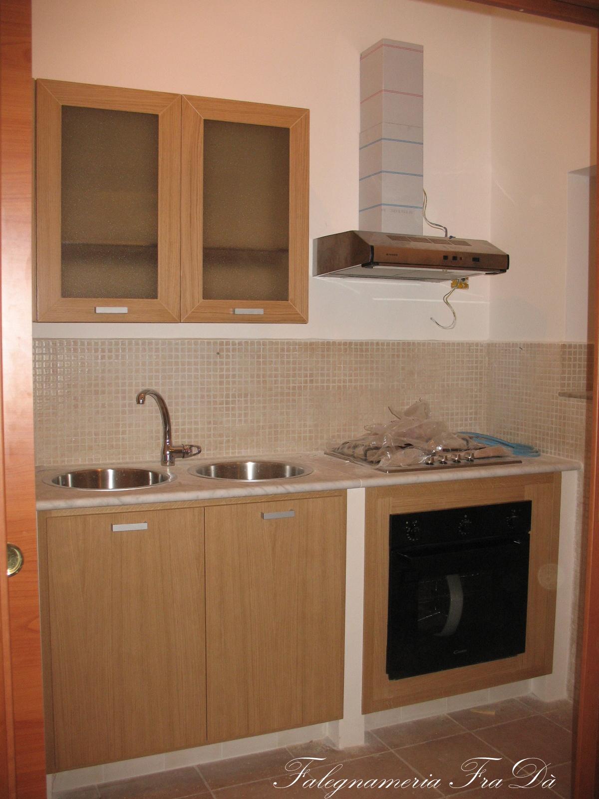 Cucina moderna rovere falegnameria frad falegname a - Cucina falegname ...