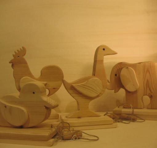 Giochi in legno antichi