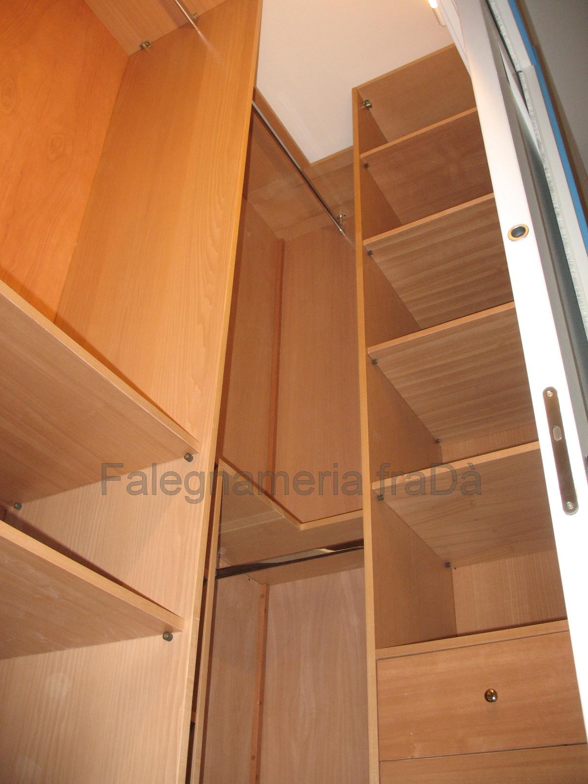 Cabina armadio interno falegnameria frad falegname a - Armadio interno ...