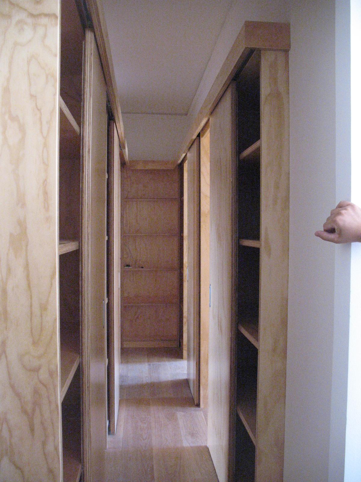 corridoio in legno 1