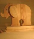 giochi in legno elefante