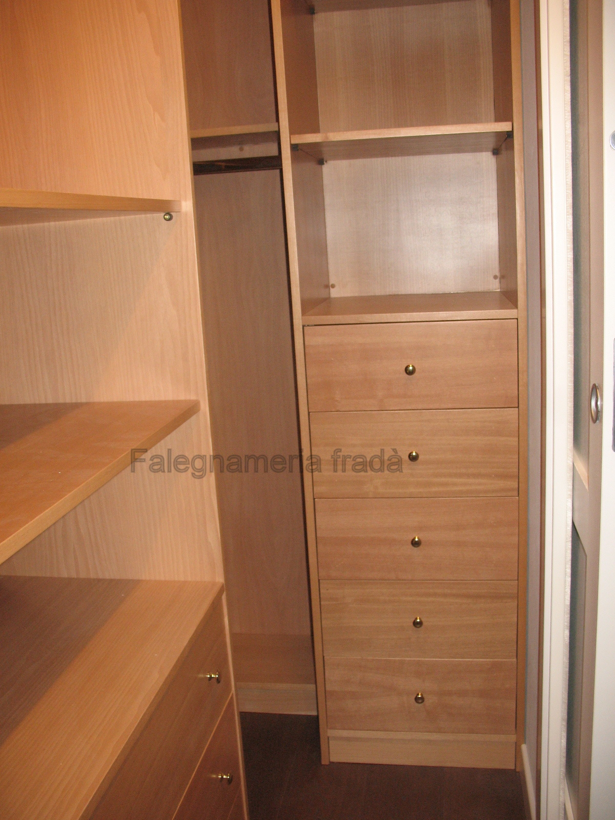 Interno cabina armadio falegnameria frad falegname a - Armadio interno ...
