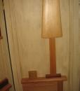 particolare separè in legno