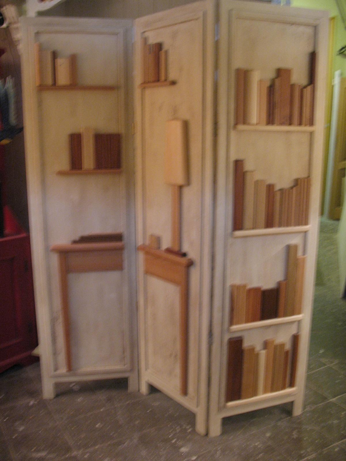 Separè artistico in legno - Falegnameria Fradà - falegname a palermo