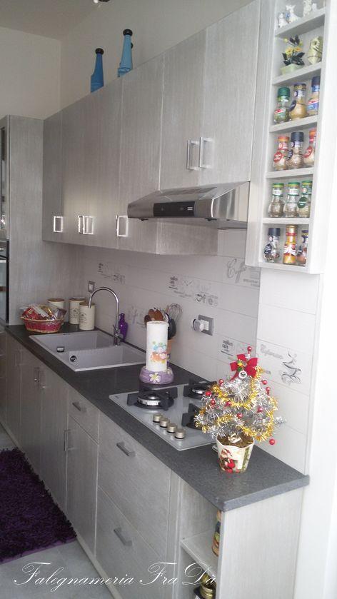 Cucina artigianale moderna in legno