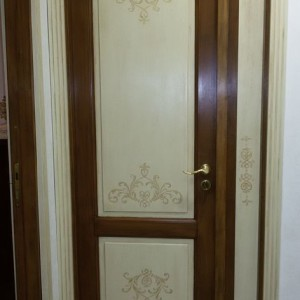 Falegnameria frad falegname palermo mobili in legno - Porte decorate a mano ...