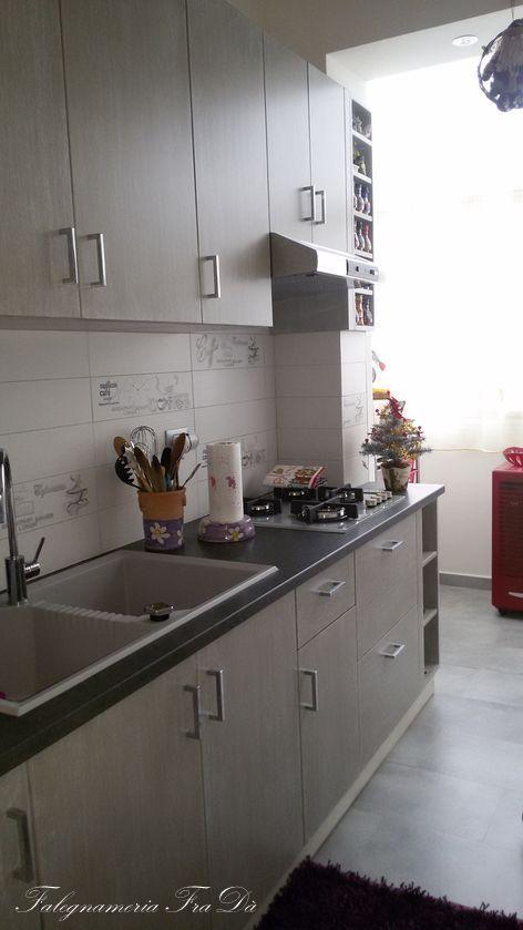 cucina artigianale moderna particolare