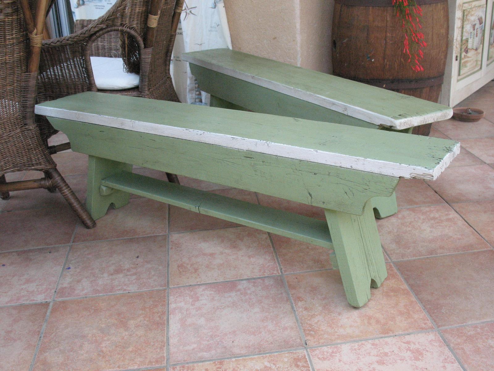 recupero vecchie panche legno