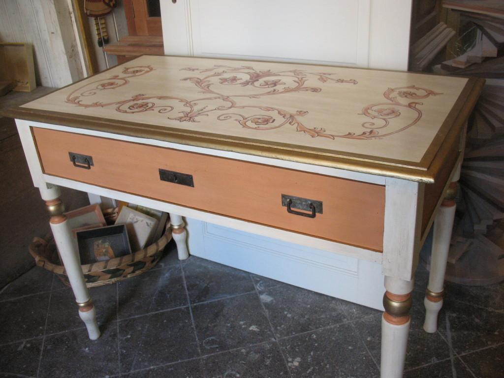 Recupero di un vecchio tavolo in legno - Falegnameria Fradà - falegname a palermo