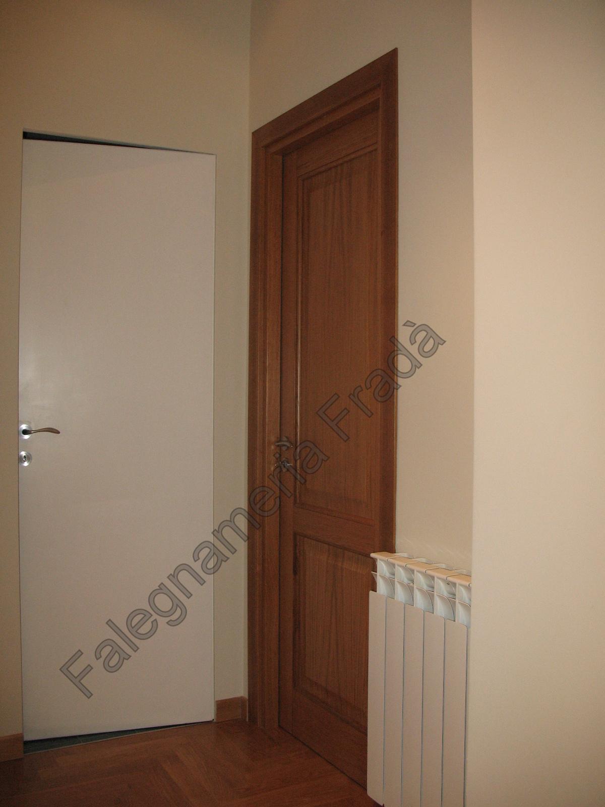 Porte Interne Shabby Chic porte interne in legno massello di rovere - falegnameria