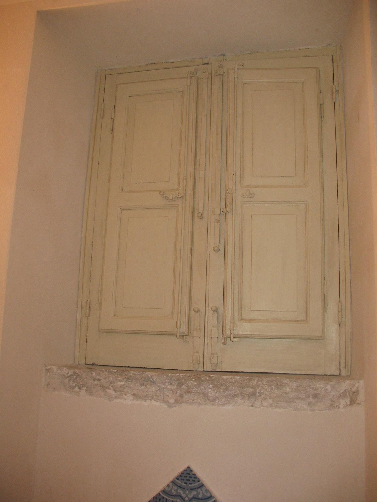 restauro finestra interna