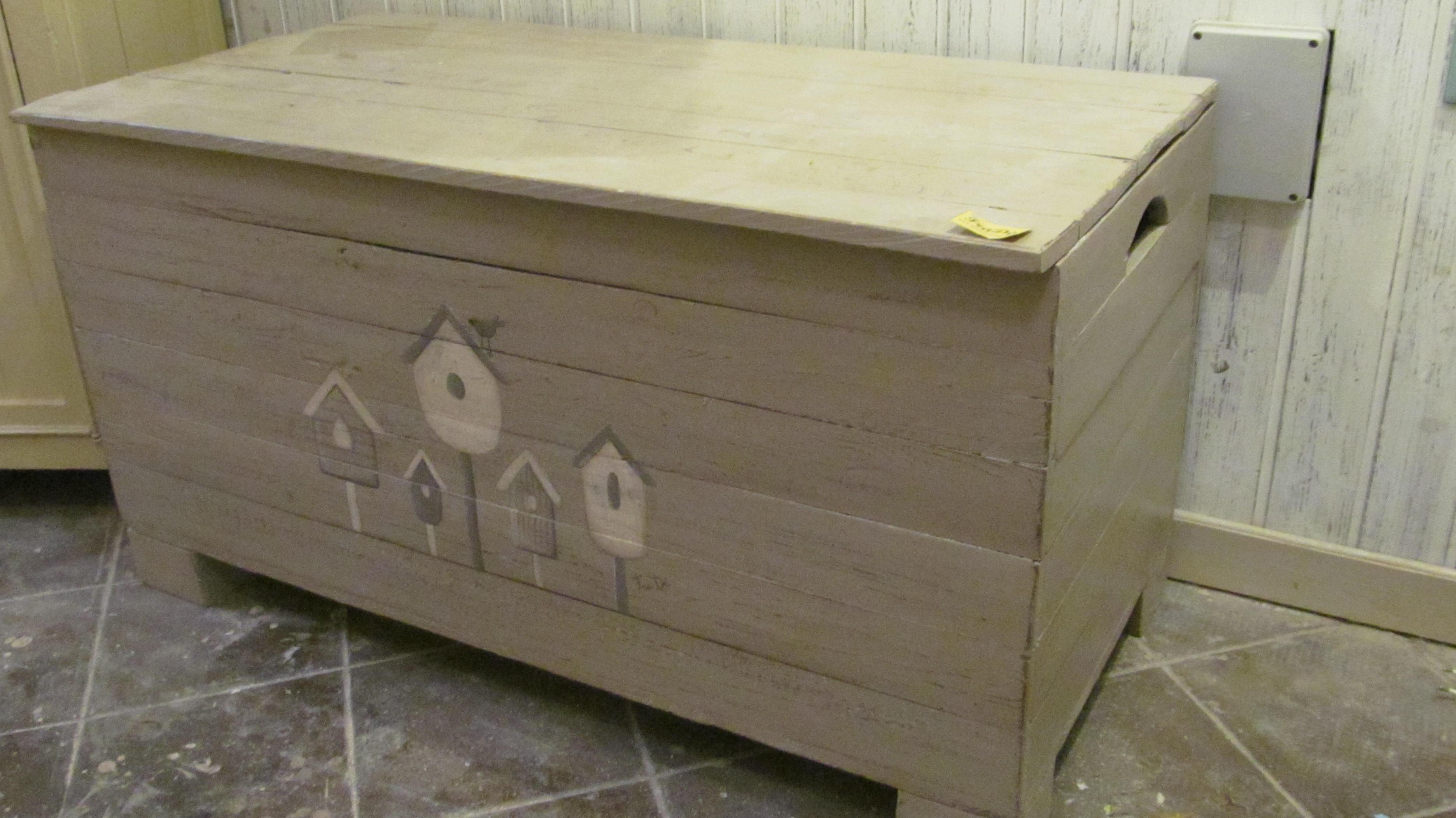 Casapanca in legno  2