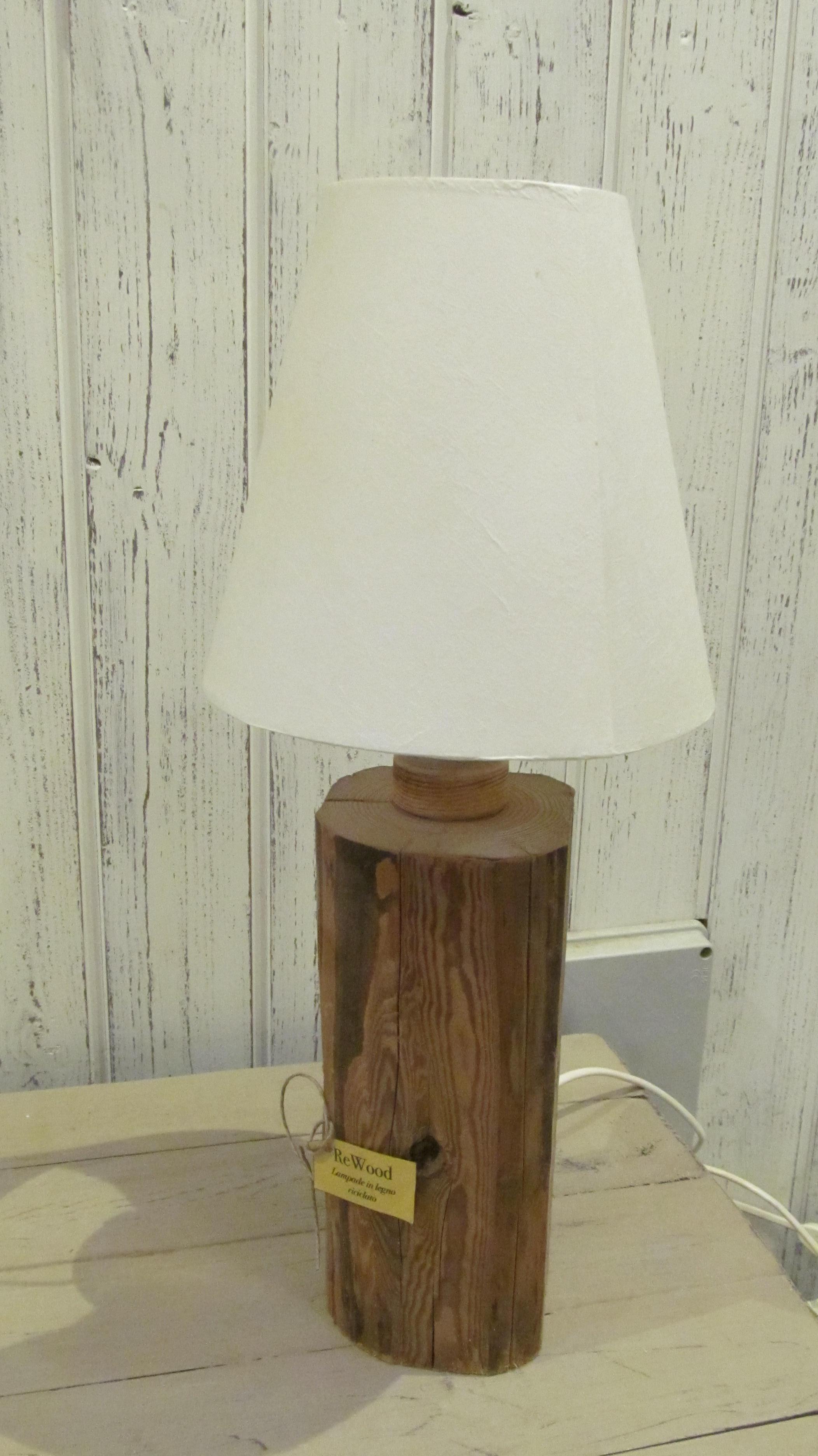 lampada rewood piccola