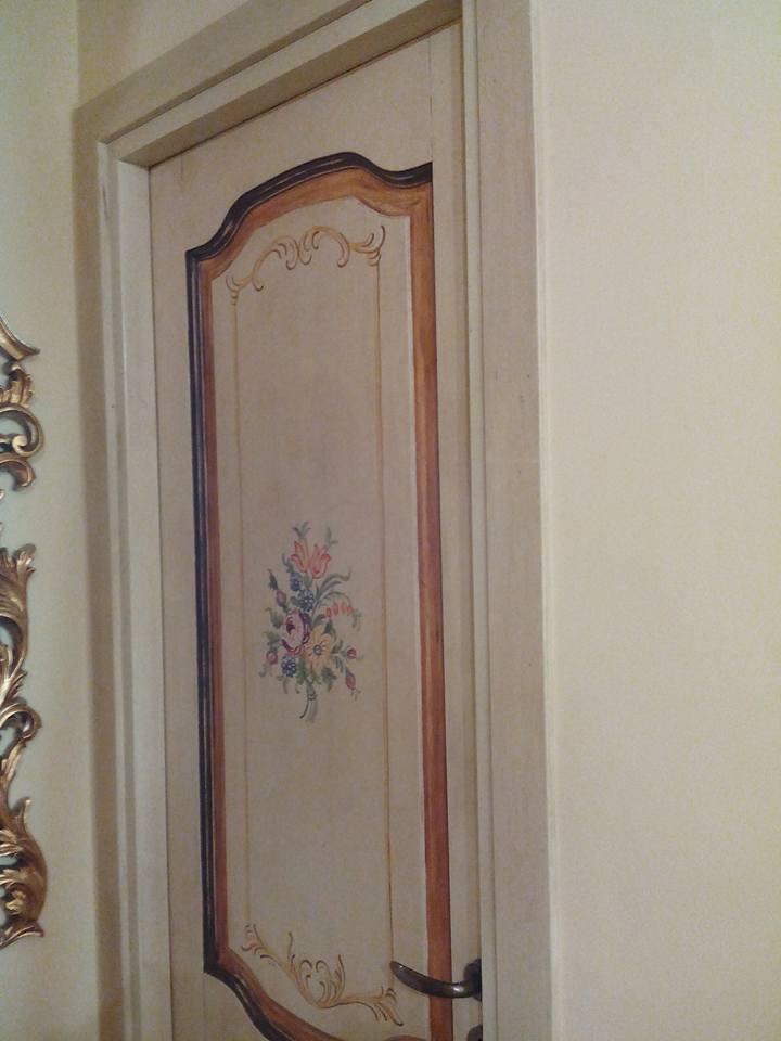 Porte decorate uniche - Falegnameria Fradà - falegname a palermo