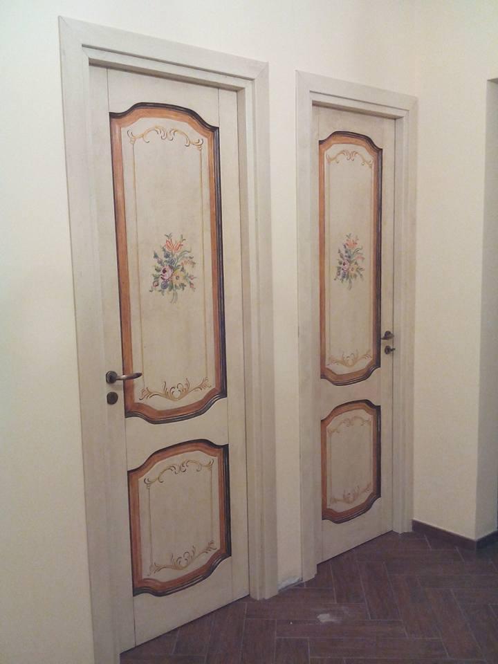 Porte decorate uniche falegnameria frad falegname a palermo - Porte a palermo ...
