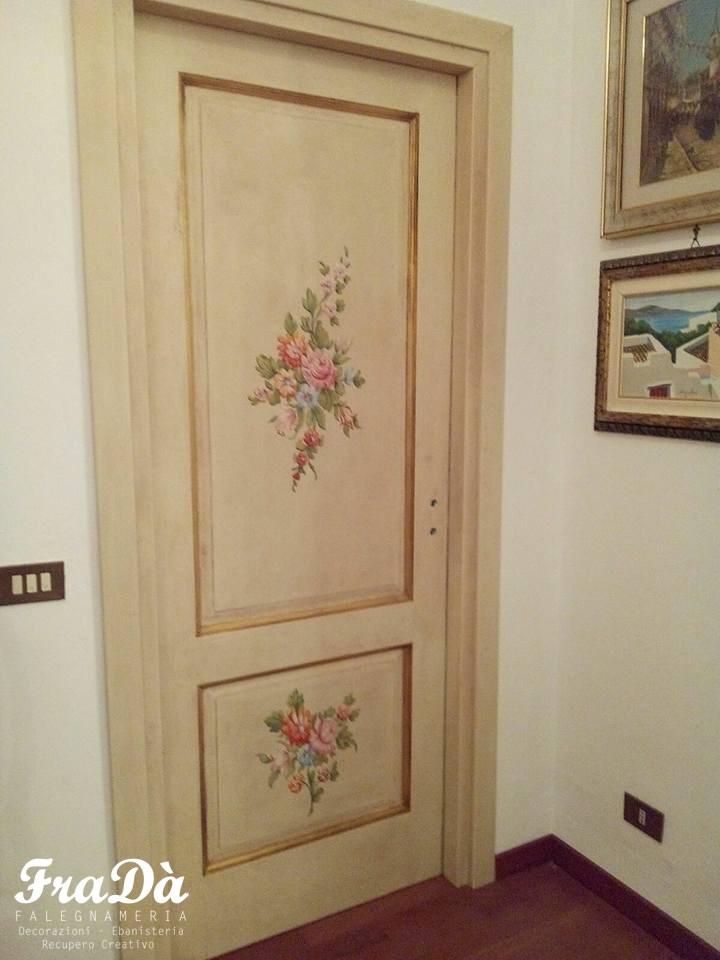 Porte dipinte e decorate a mano - Falegnameria Fradà ...
