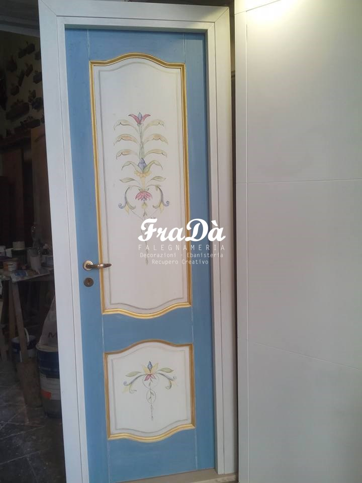 Awesome porte decorate a mano photos - Porte a palermo ...
