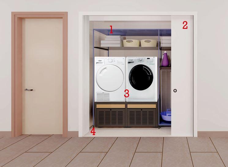 Recupera spazio in casa falegnameria frad falegname - Creare un bagno in poco spazio ...