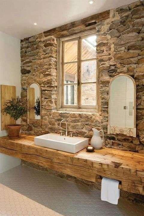Arredare il bagno con mobili in legno - Falegnameria Fradà ...