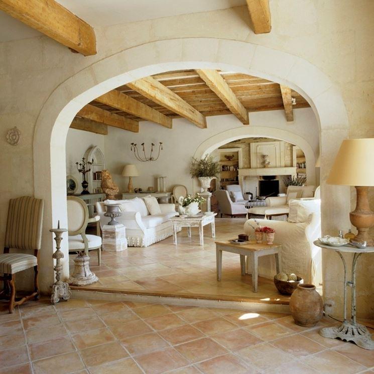 Come arredare in stile country falegnameria frad for Arredamento case di lusso
