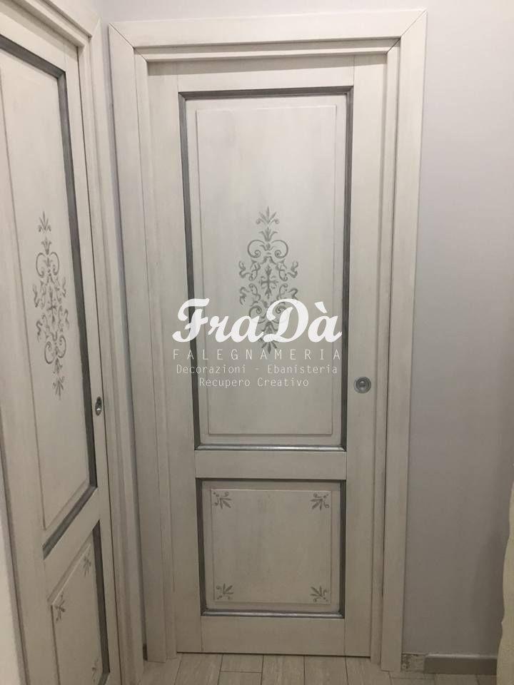 Porte in legno decorate a mano falegnameria frad - Porte decorate a mano ...