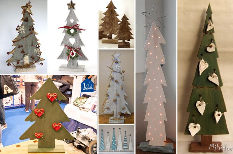 Alberi Di Natale In Legno Da Appendere : Idea natalizia albero di natale in legno falegnameria fradà