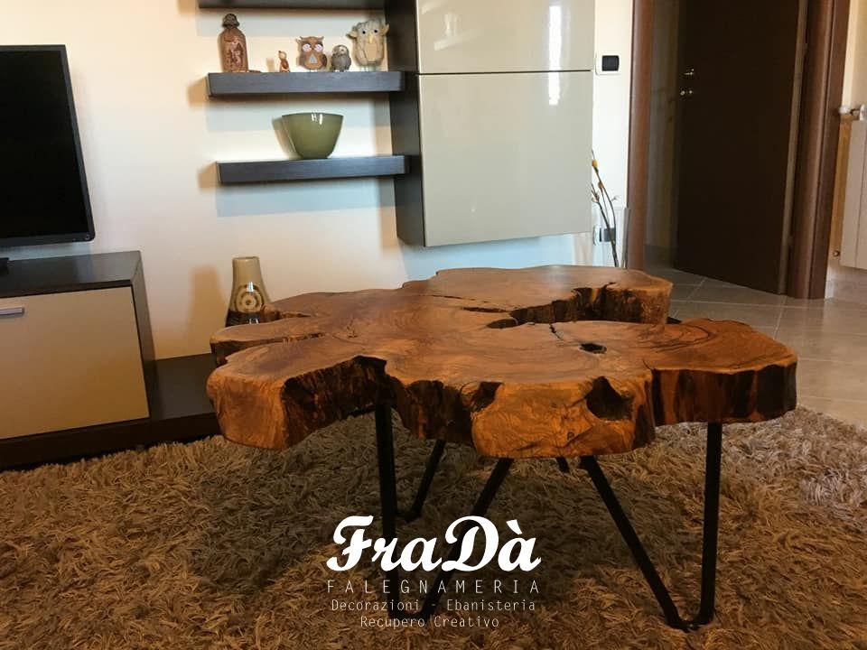 tavolo in legno di ulivo