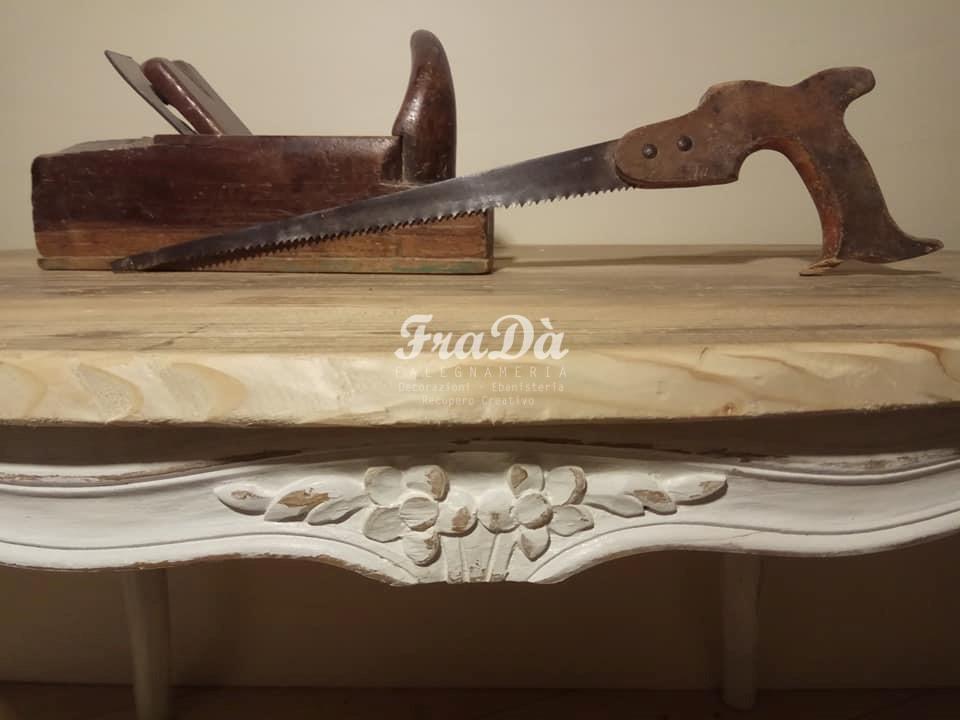 restauro tavolo in legno