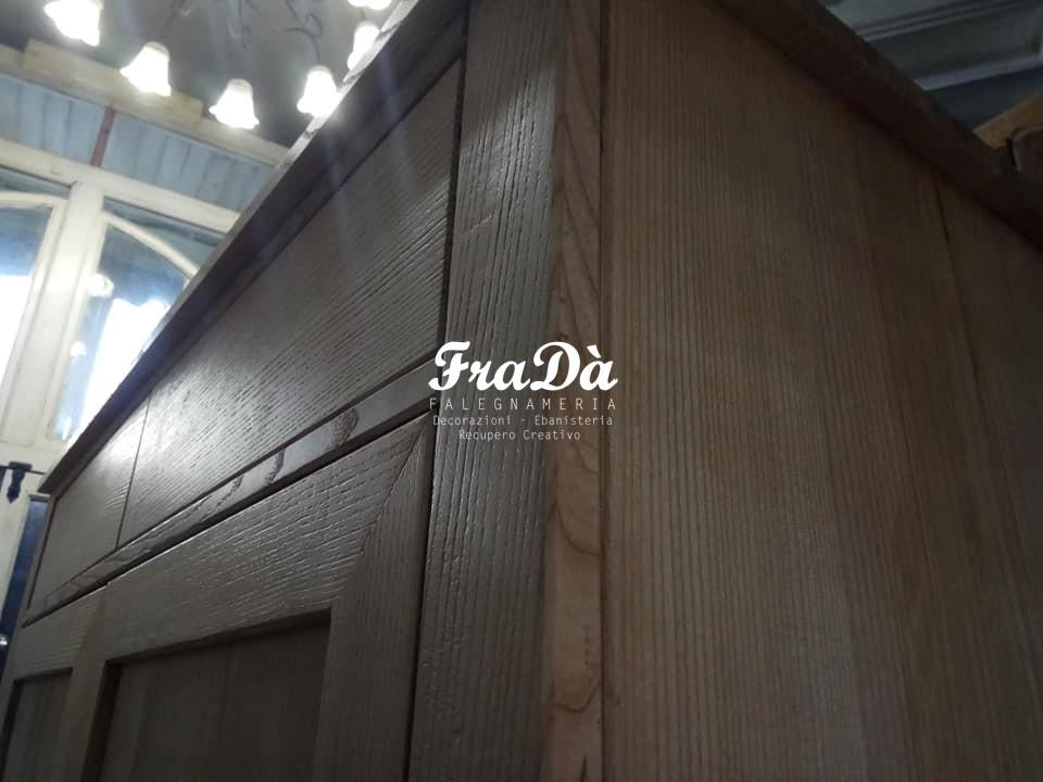 Credenza Per Cucina Palermo : Realizzazione credenza in legno massello falegnameria fradà