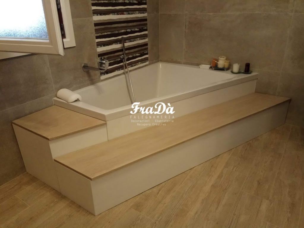 Mobili contenitori per bagno su misura falegnameria frad falegname a palermo - Contenitori per bagno ...