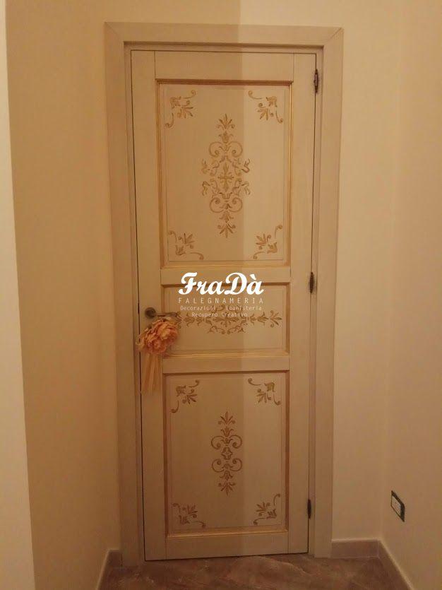 Porte in legno dipinte a mano - Falegnameria Fradà - falegname a palermo