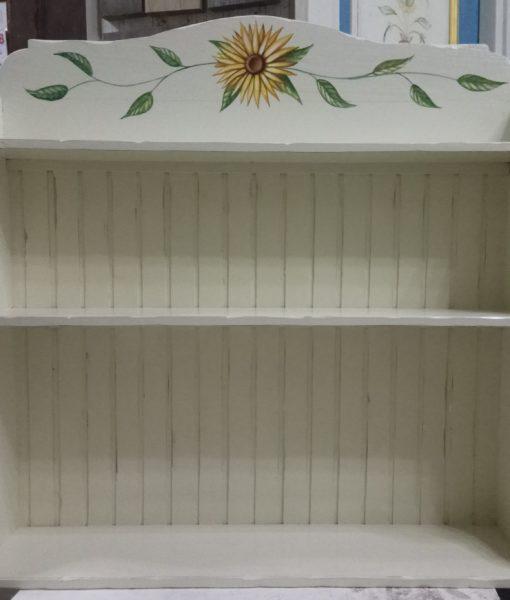 piattaia in legno dipinta per cucina