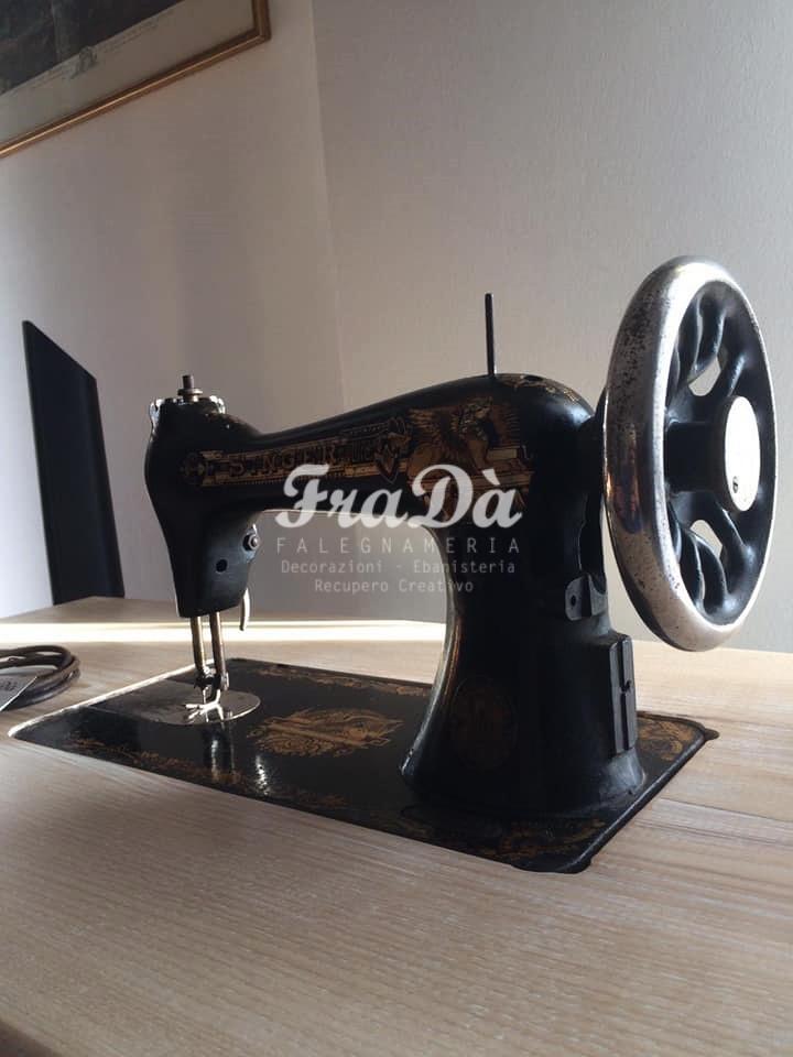 restauro macchina da cucire