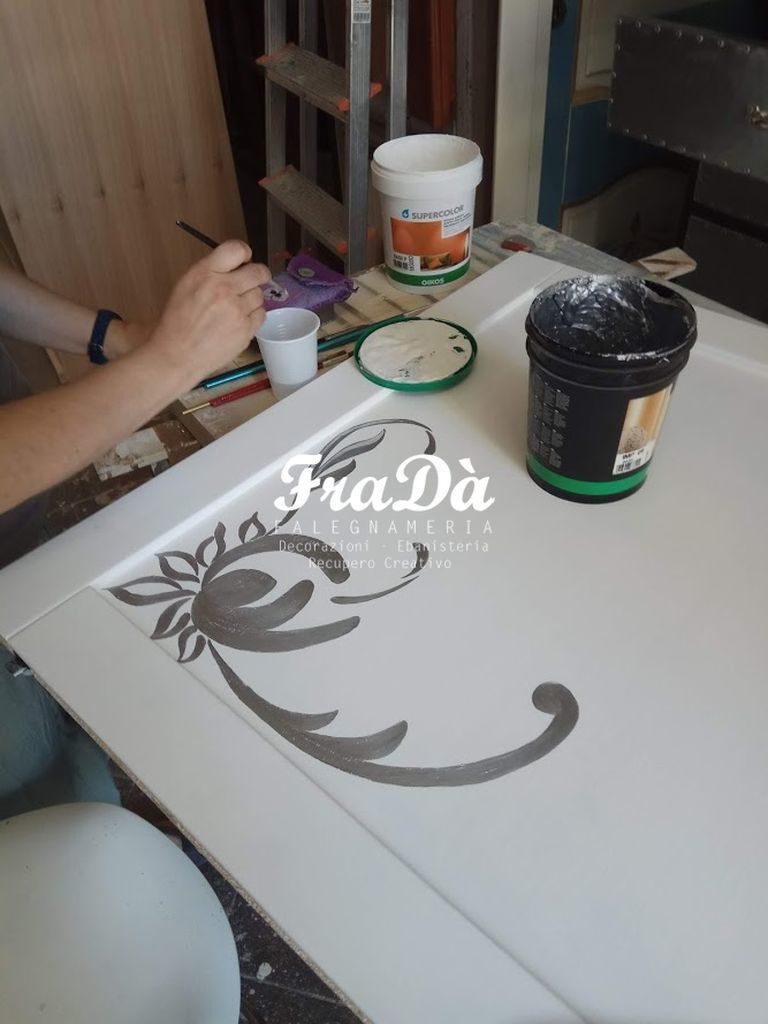 porte dipinte a mano