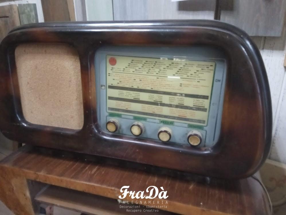 restauro radio antica