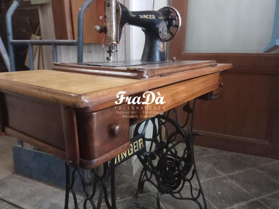 Restauro macchina da cucire Singer