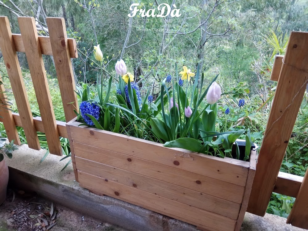 fioriere in legno