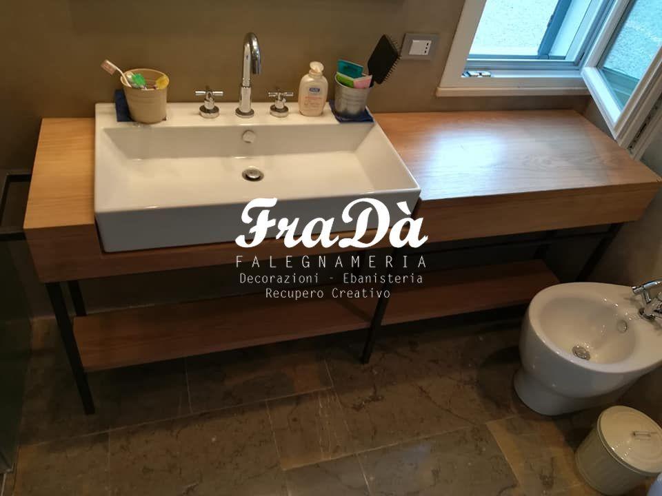 arredo bagno in legno