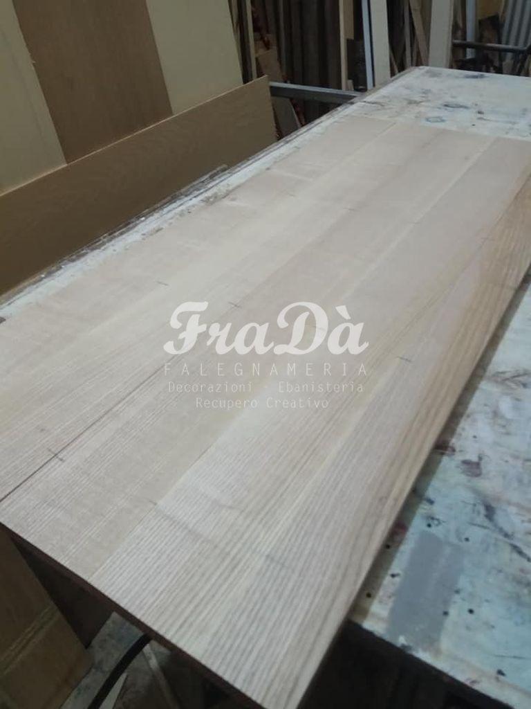 Come Sbiancare Il Legno credenza in legno massello con finitura sbiancata e