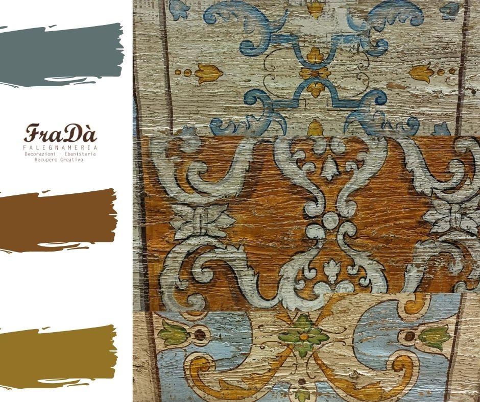 pannelli in legno antichi